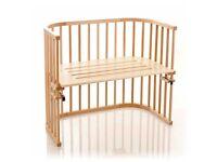 Babybay Co-Sleeper Cot Maxi (Extra Ventilation) + extras
