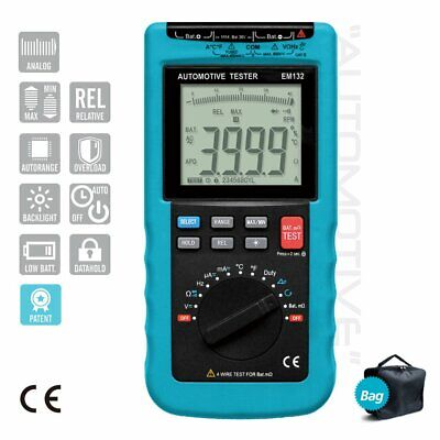 Digital Automotive Multimeter 3 34 Rpm Backlight Lcd Automotive Repair Tool