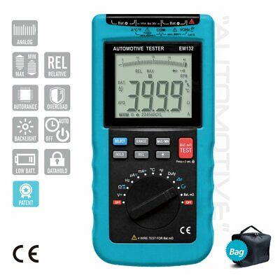Digital Automotive Multimeter 3 34 Rpm Backlight Lcd Automotive Repair Tool