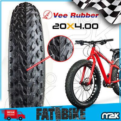 Neumáticos Goma Espiga 20X4.00 de Tacos Grasa Bike Bici Eléctrica