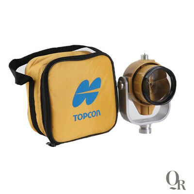 Yellow Single Prism With Bag For Topconsokkianikon Total Stations Surveying