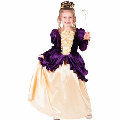 Purple Belle Ball Gown costume by Dress up America no crown or hoop