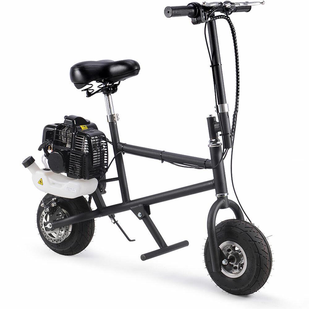 gas mini bike 49cc air cooled black