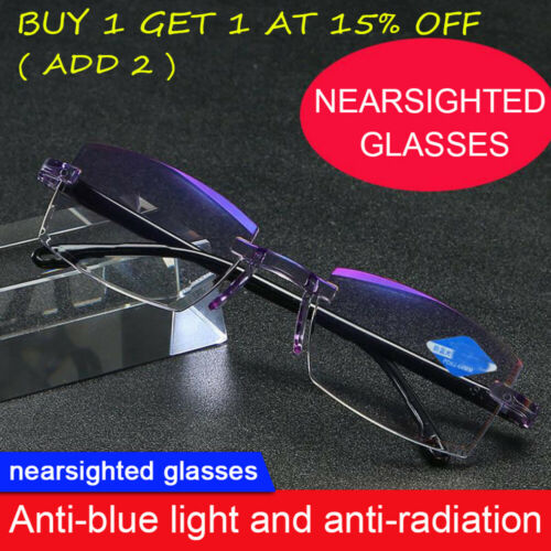 High Hardness Anti-blue Progressive Far And Near Dual Use Reading Glasses US HOT