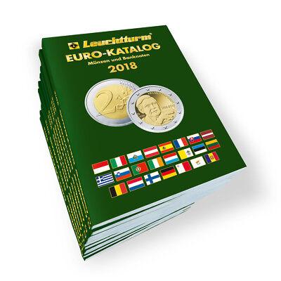 LEUCHTTURM Euro Katalog 2018 Münzen Banknoten 2 € nachschlagen Nachschlagewerk