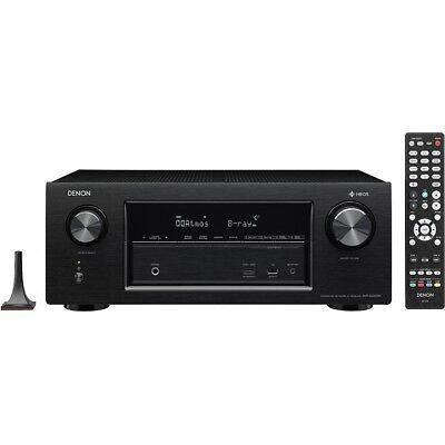 Denon AVR-X2400H 7.2 AV-Receiver Heos Dolby Atmos Surround WLAN Bluetooth HDMI