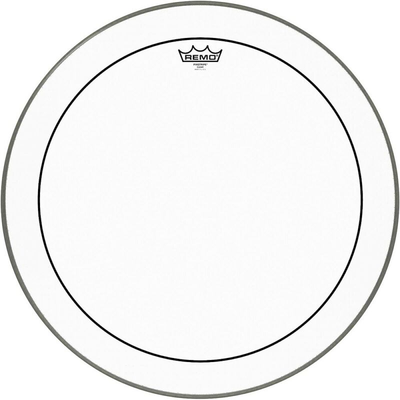 Remo Pinstripe Clear Bass Drum Head 22 in.