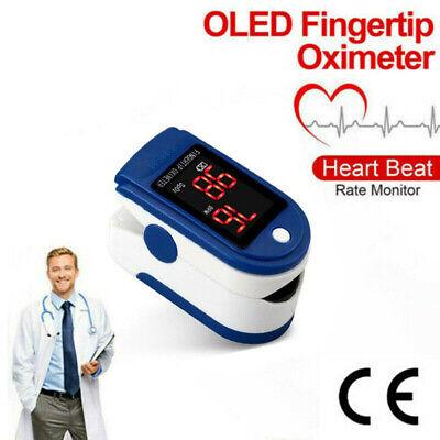 Fingertip pulse SpO2 Oximeter Blood Oxygen Saturation Meter Finger PR Monitor A4