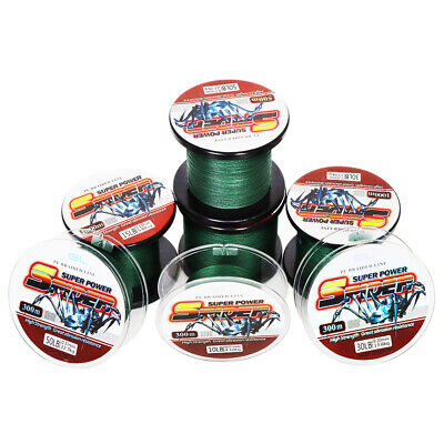 SuperPower Braided Fishing Line Incredible Superline 330 - 1100 yds, 10 - 50 LB 50 Yds Fishing Line