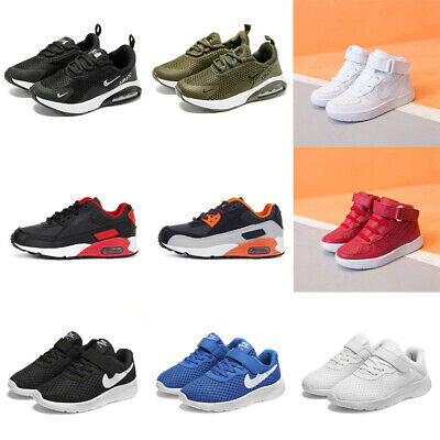 Kids Boys Girls Air Walk Running Shoes Sports Trainers Sneakers Shoes