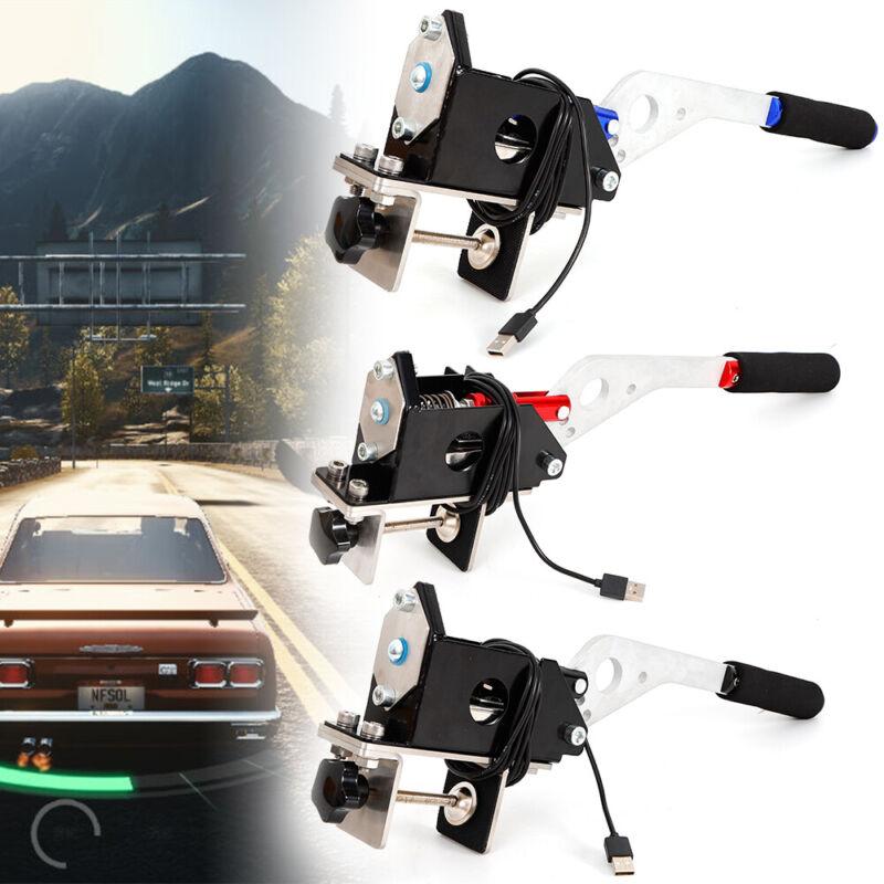 SIM PC-USB Game Racing Handbrake+Clamp For Logitech G27 G25 G29 T500 DIRT  RALLY   PolyBull com