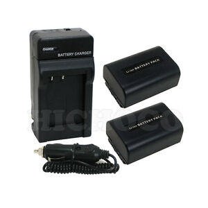 2-Battery-Charger-Combo-Set-for-Sony-NP-FV50-NP-FV40-NP-FV30-HDR-CX200