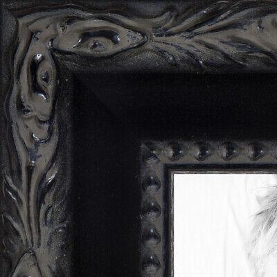 "ArtToFrames Custom Picture Poster Frame Black Engraved 1.5"""
