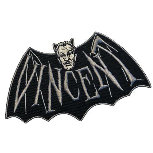 Vincent Price Bat Patch Iron On Horror Movie Devil Vampire Gothic Monster Icon