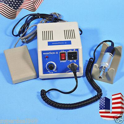 Usa Dental Lab Portable Electric Marathon Micromotor Polishier 35k Rpm Motor