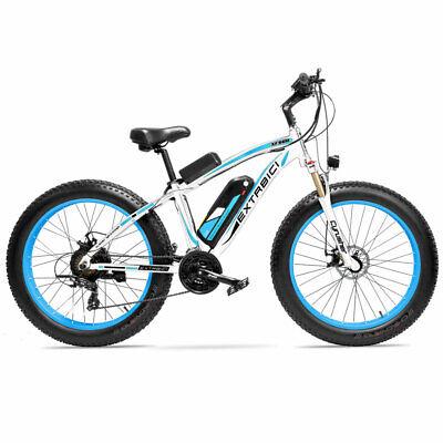 Blue Cyrusher XF660 1000W 48V 16AH Electric Bike Electric Fat Tire Mountain Bike
