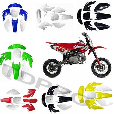 Complete Body Plastics Fenders Kits For Honda CRF70 Chinese Pit/Dirt Bike Dirt Bike Body Kits