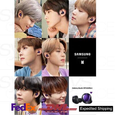 BTS SAMSUNG Galaxy Buds+ BTS Edtion + Free Express Shipping