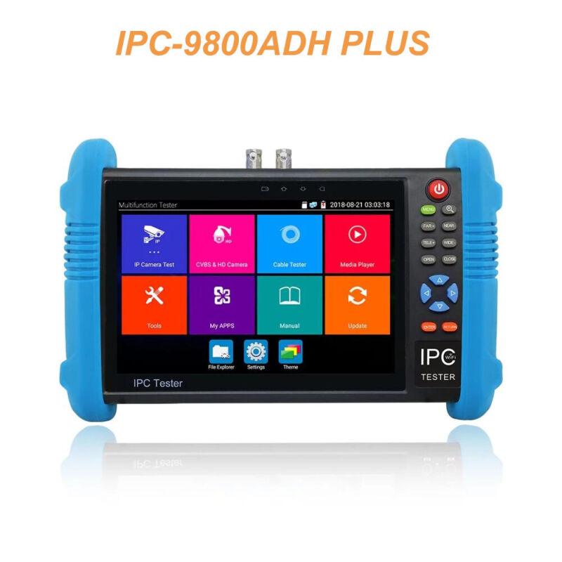 "7"" touch CCTV AHD CVI TVI CVBS IP Camera Tester H.265 4K WIFI IPC-9800ADH Plus"