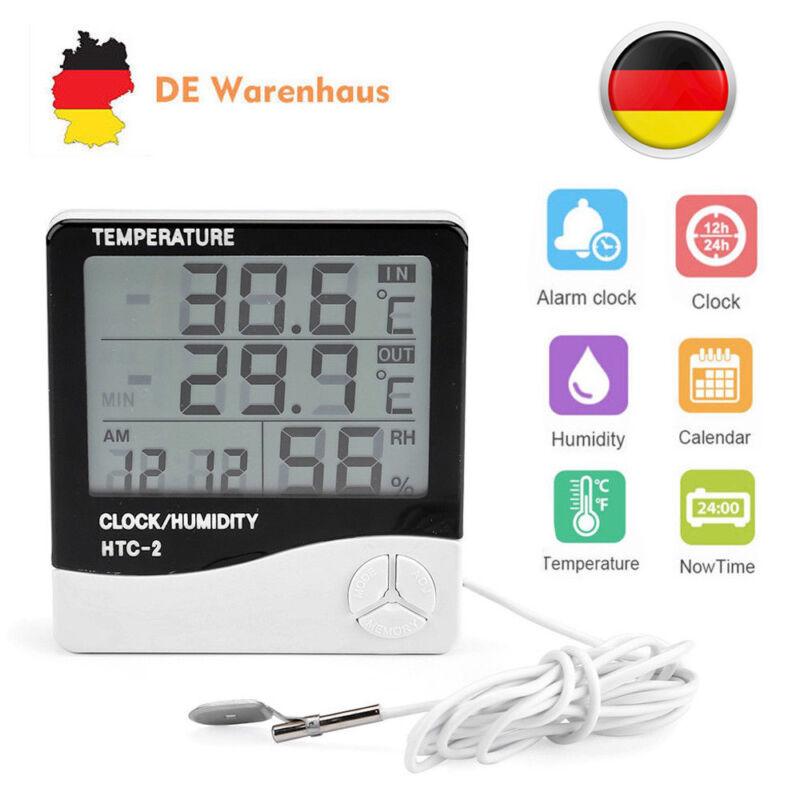 HTC2 Digital Temperature Humidity Thermometer Hygrometer Luftfeuchtigkeitsmesser