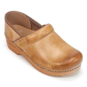 fef0c802551c6 Women's Dansko Professional Honey Distressed Casual Clogs Size 41 US 11  Leather