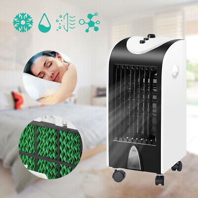 Portable Air Cooler Unit Ice Water Humidifier Purifier Conditioner Ionisator UK