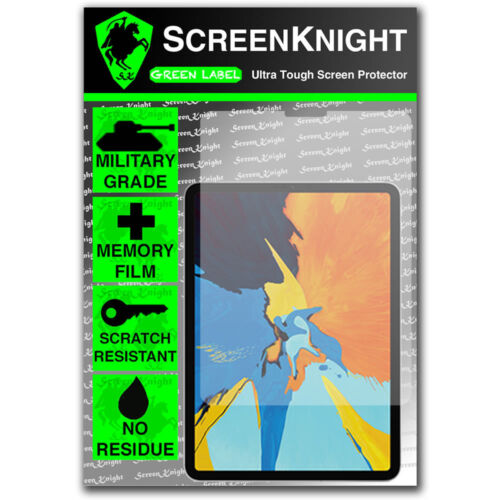 "ScreenKnight Apple iPad Pro 11"" (3rd Gen - 2018) SCREEN PROTECTOR"