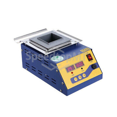 110v Solder Pot Desoldering Bath Digital Melting Tin 350w 1320g Lead-free Square