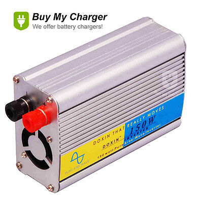 150W Pure Sine Wave Power Inverter 12V DC  220V AC Laptop Mobile (150w Pure Sine Wave)