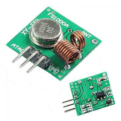 eBay - 433Mhz RF transmitter and receiver kit