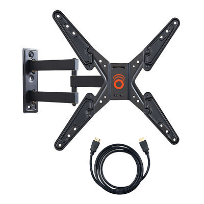 """ECHOGEAR Full Motion Articulating TV Wall Mount - 26-55"""" LED, LCD and Plasma TVs"""