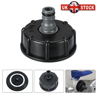 IBC Adapter Connector Reducer Hose Lock Water Pipe Tap Storage Tank Fitting Butt for sale  Leicester