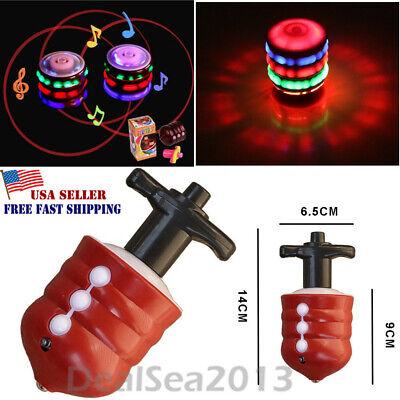 Toys for Kids Spinning Top Gyro Spinner Laser LED Music Lights Boys Xmas Gift ()