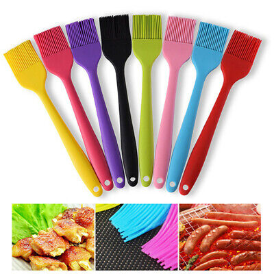 Silicone Pastry Brush Reusable BBQ Food Pastry Cake Glazing Naan Basting - Bbq Cake