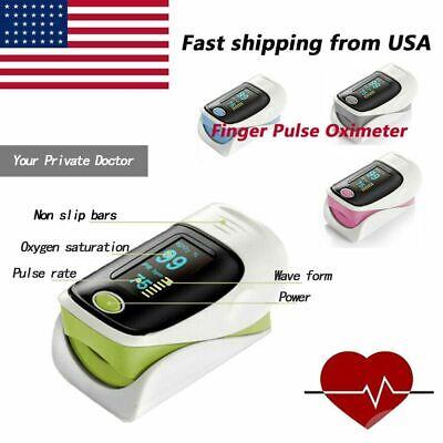Health Care Pulse Oximeter Finger Blood Oxygen Spo2 Monitor Pr Heart Rate Fdace