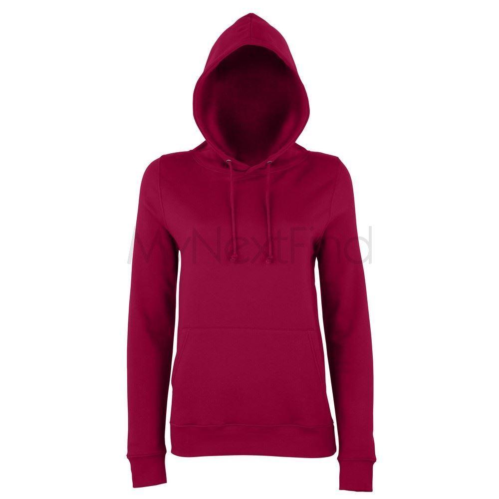 AWDis Varsity Hoodie Plain Hooded sweatshirt contrast hood /& draw strings