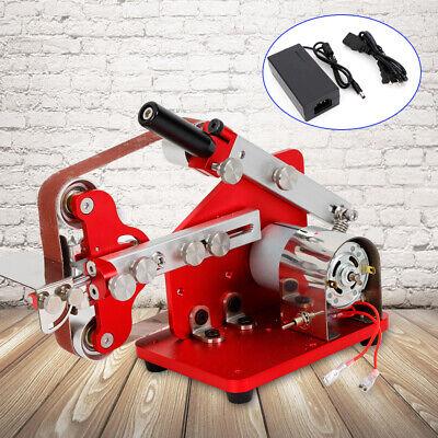 Mini Belt Machine Micro Table Polishing Machine Diy Sander Grinder 7000rpm Top