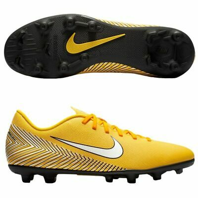 e3ae8431f New Nike Vapor 12 Club NJR FG MG Soccer Cleats AO3129-710 Yellow Black Size  11