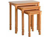 (Brand New) Brunton Nest of Tables - Antique Pine SPV93005