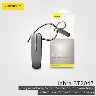 Jabra BT2047 Wireless Bluetooth Headset for Smartphones for sale  Shipping to India