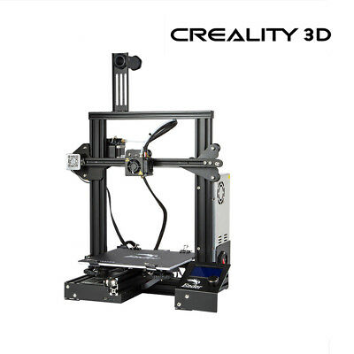 Creality Ender 3 3d Printer Removable Build Plate Dc 24v Thanksgiving Gift