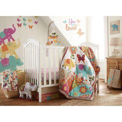 Levtex Baby ZAHARA 5 Piece Crib Bedding Set --  NEW IN PACKAGE -- Retail $199.99
