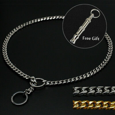 Luxury Titan Choke Chain Collar for Dog Training Pit Bull Doberman Best