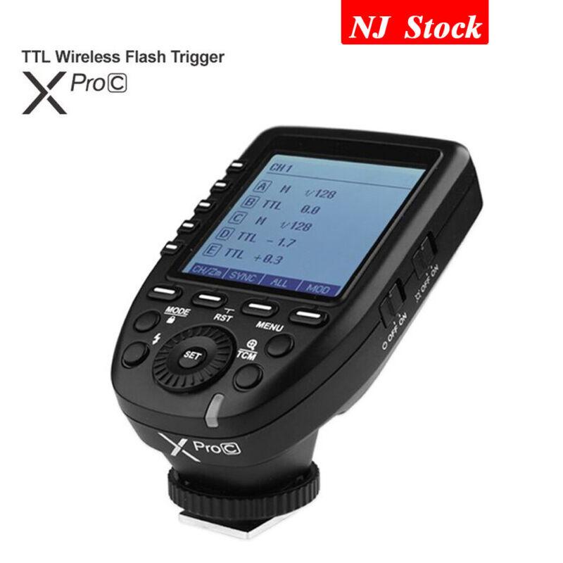 Godox XPro-C Transmitter Trigger TTL 2.4G Flash Speedlite For Canon EOS Camera