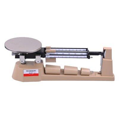 2610gX0.1g Triple Beam Pan Mechanical Balance Scale Lab Analytical Weighing (Pan Balance)