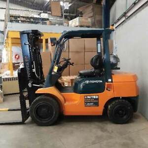 Used 3.0T Toyota LPG Forklift Welshpool Canning Area Preview