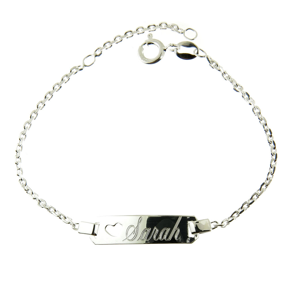 hers engraving stainless p girls s womens nehzus of personalized bracelet picture custom steel