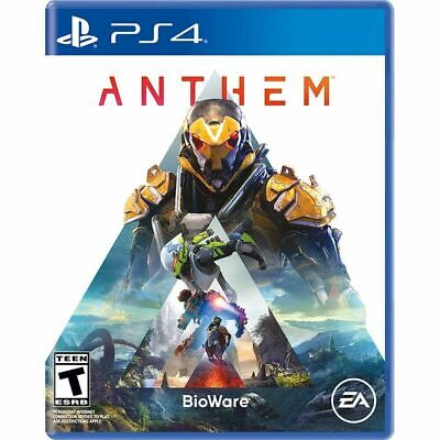 Anthem (PS4, 2019) Brand New Factory Sealed
