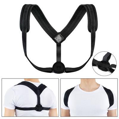 Posture Corrector Shoulder Upper Back Adjustable Clavicle Support Brace Improve