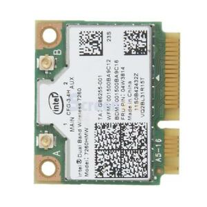 Wireless-AC 7260 7260HMW Wifi Bluetooth 4.0 Mini PCI-E Card for Intel Lenovo